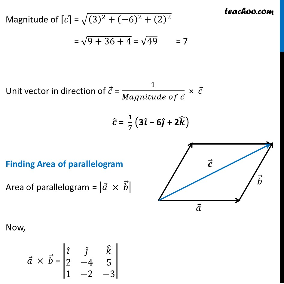 Misc 10 - Chapter 10 Class 12 Vector Algebra - Part 2