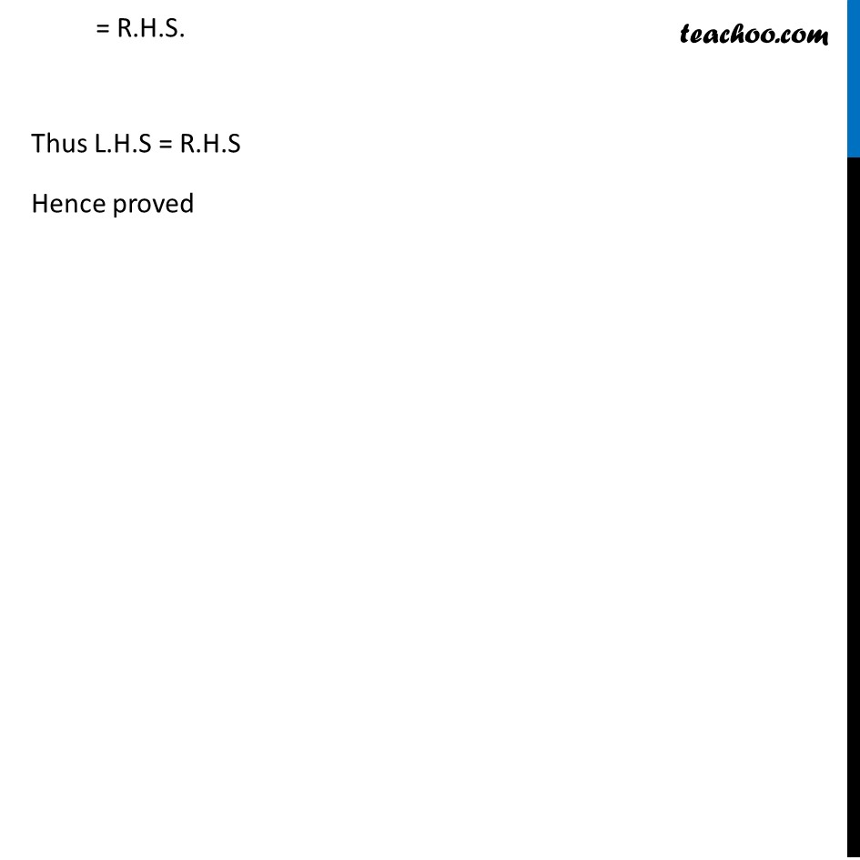 Example 4 - Chapter 2 Class 12 Inverse Trigonometric Functions - Part 2