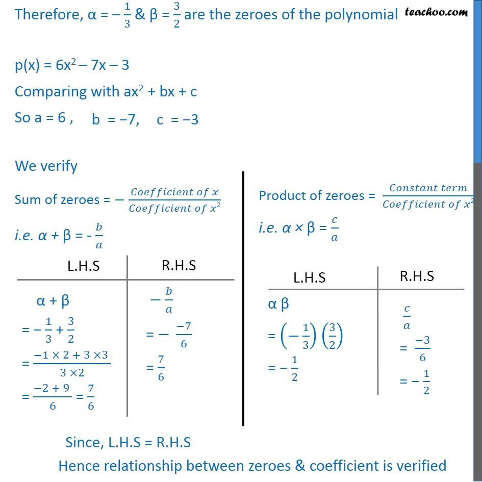 Ex 2.2, 1 - Chapter 2 Class 10 Polynomials - Part 6