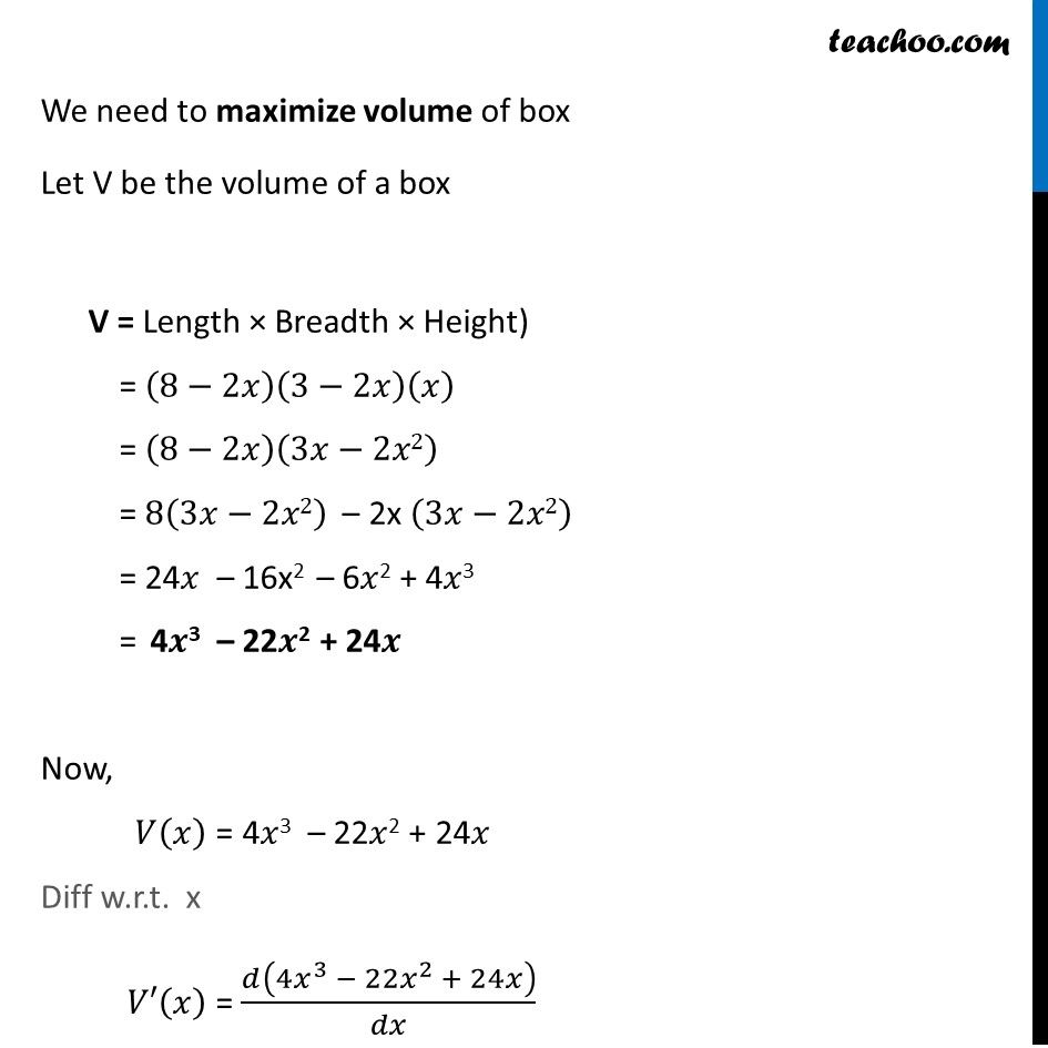 Example 50 - Chapter 6 Class 12 Application of Derivatives - Part 2