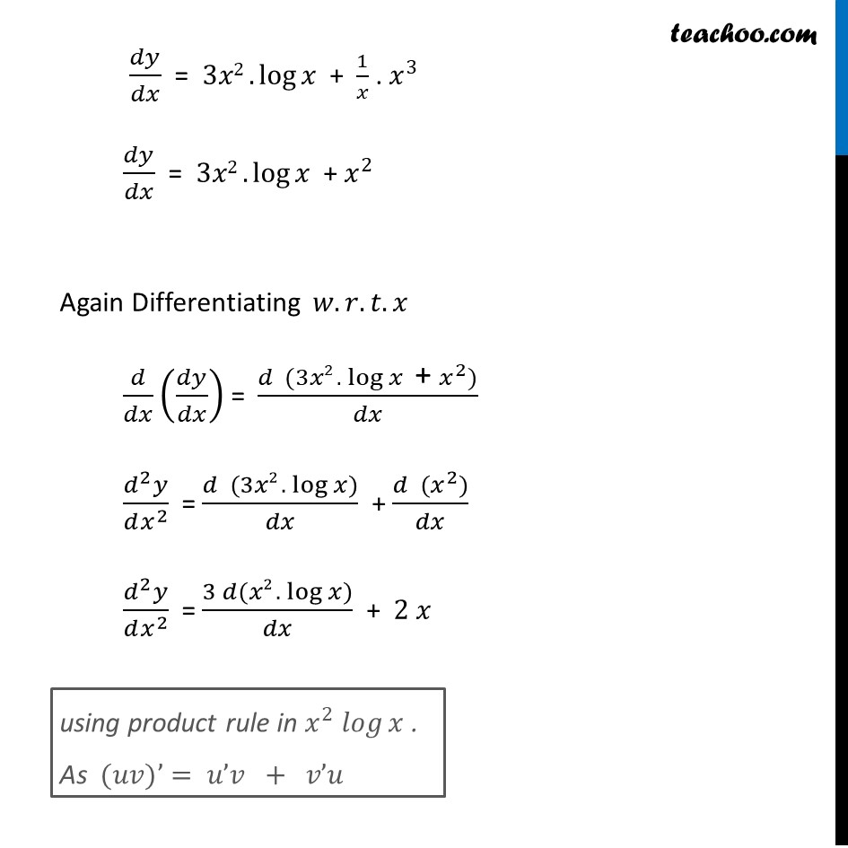 Ex 5.7, 5 - Chapter 5 Class 12 Continuity and Differentiability - Part 2