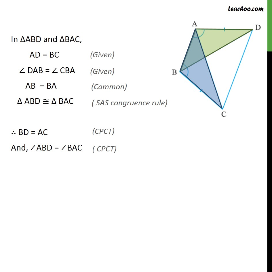 Ex 7.1, 2 - Chapter 7 Class 9 Triangles - Part 2