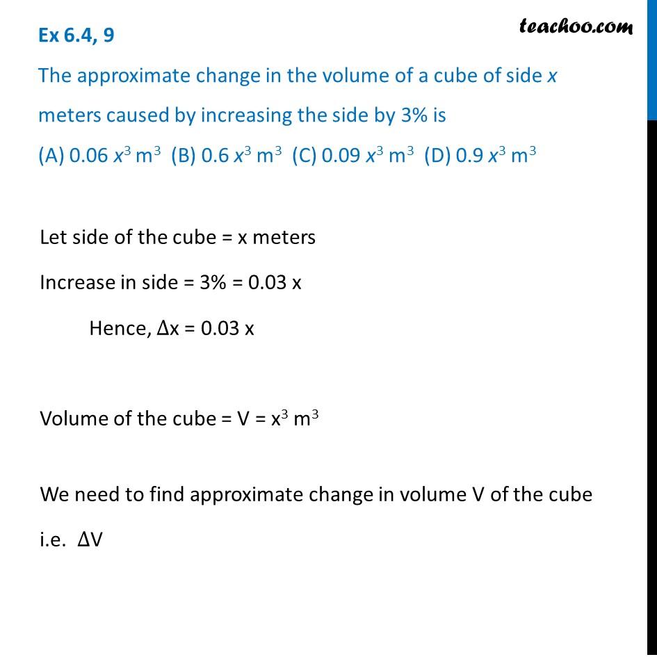 Ex 6.4,9 - Ex 6.4
