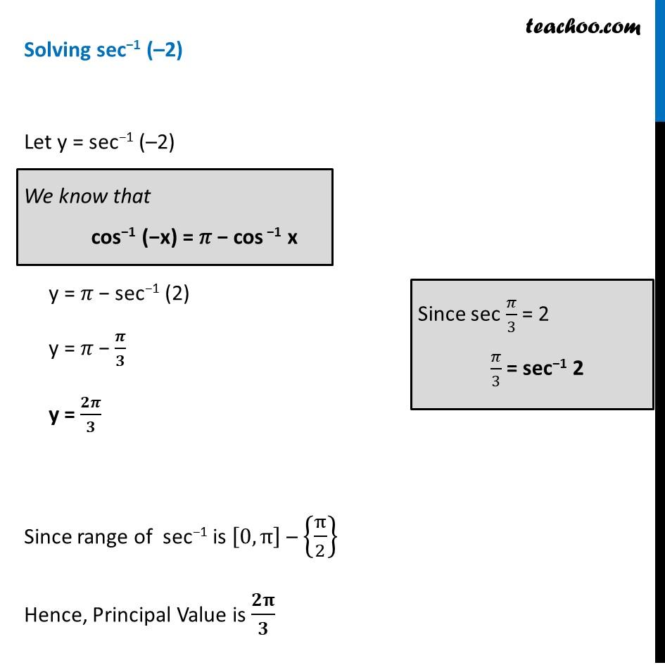 Ex 2.1, 14 - Chapter 2 Class 12 Inverse Trigonometric Functions - Part 2