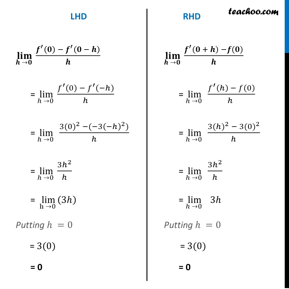 Misc 18 - Chapter 5 Class 12 Continuity and Differentiability - Part 5