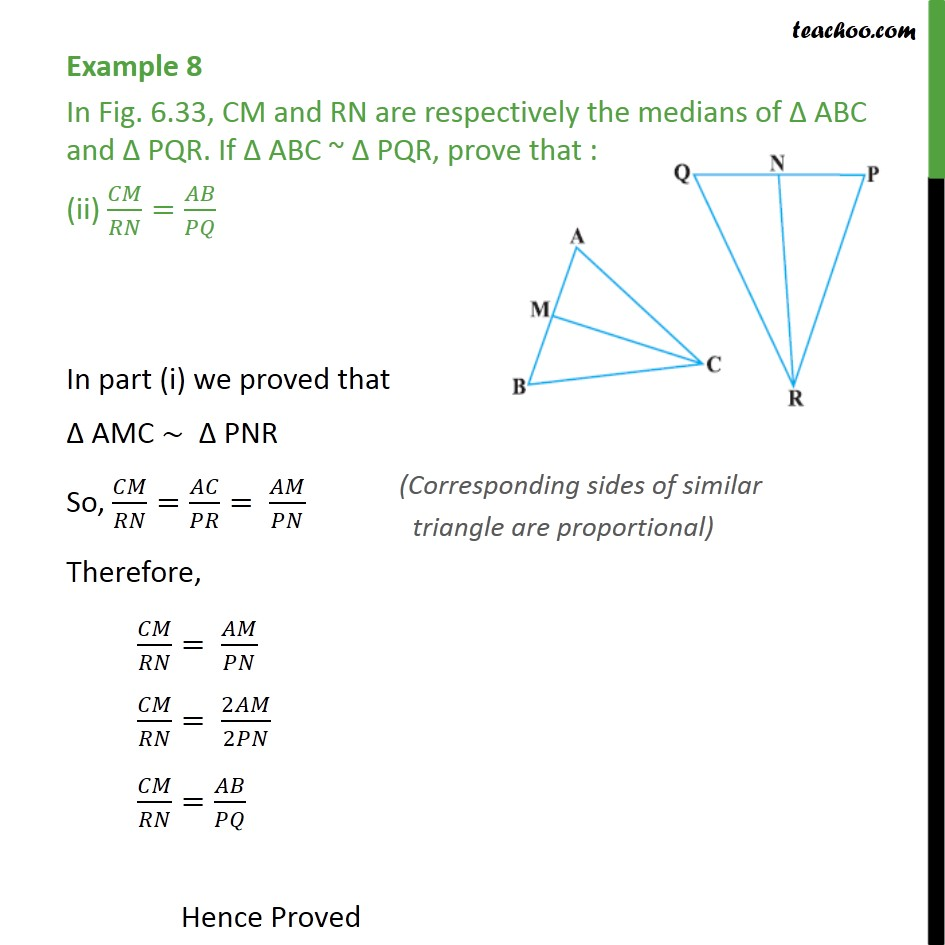 Example 8 - Chapter 6 Class 10 Triangles - Part 4