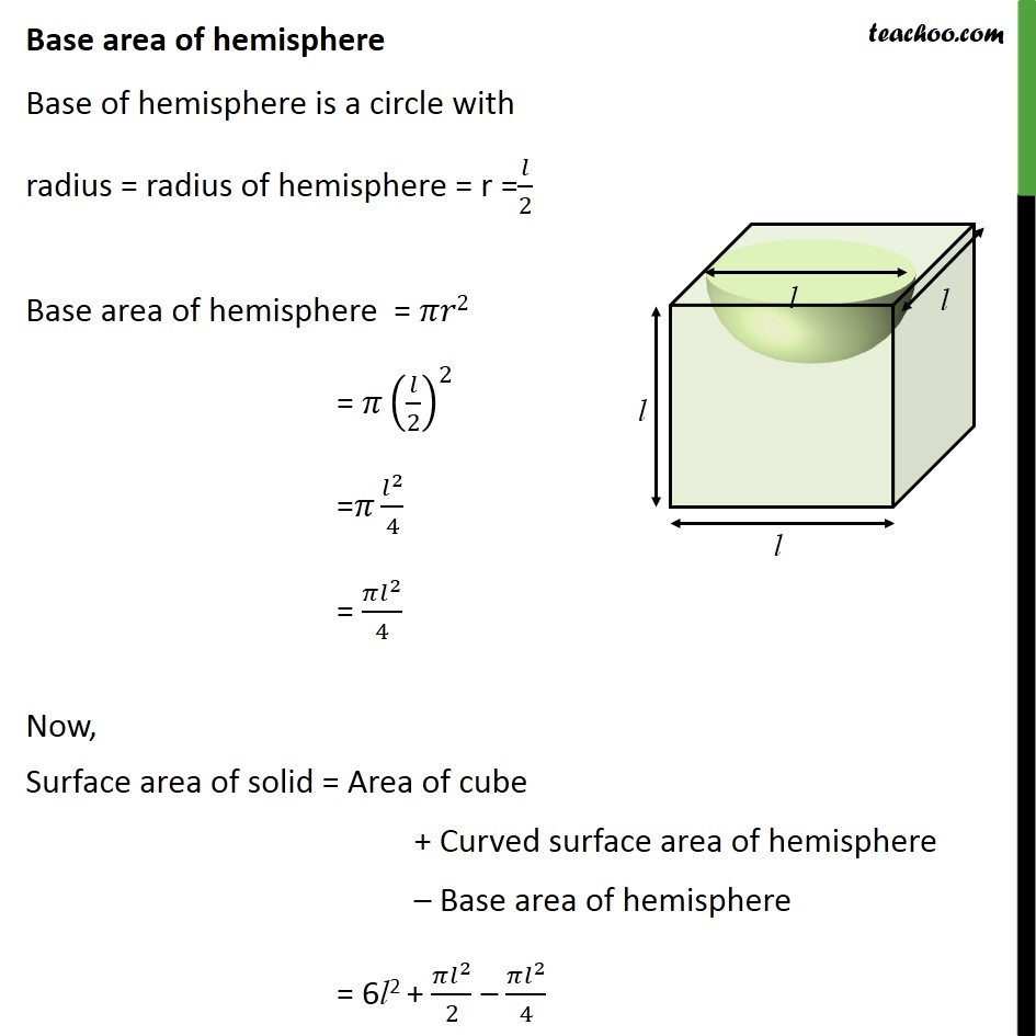 Ex 13.1, 5 - Chapter 13 Class 10 Surface Areas and Volumes - Part 3