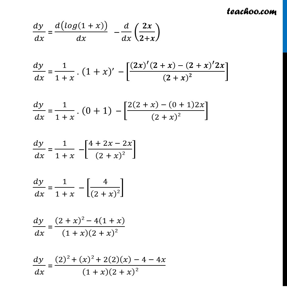 Ex 6.2,7 - Chapter 6 Class 12 Application of Derivatives - Part 2