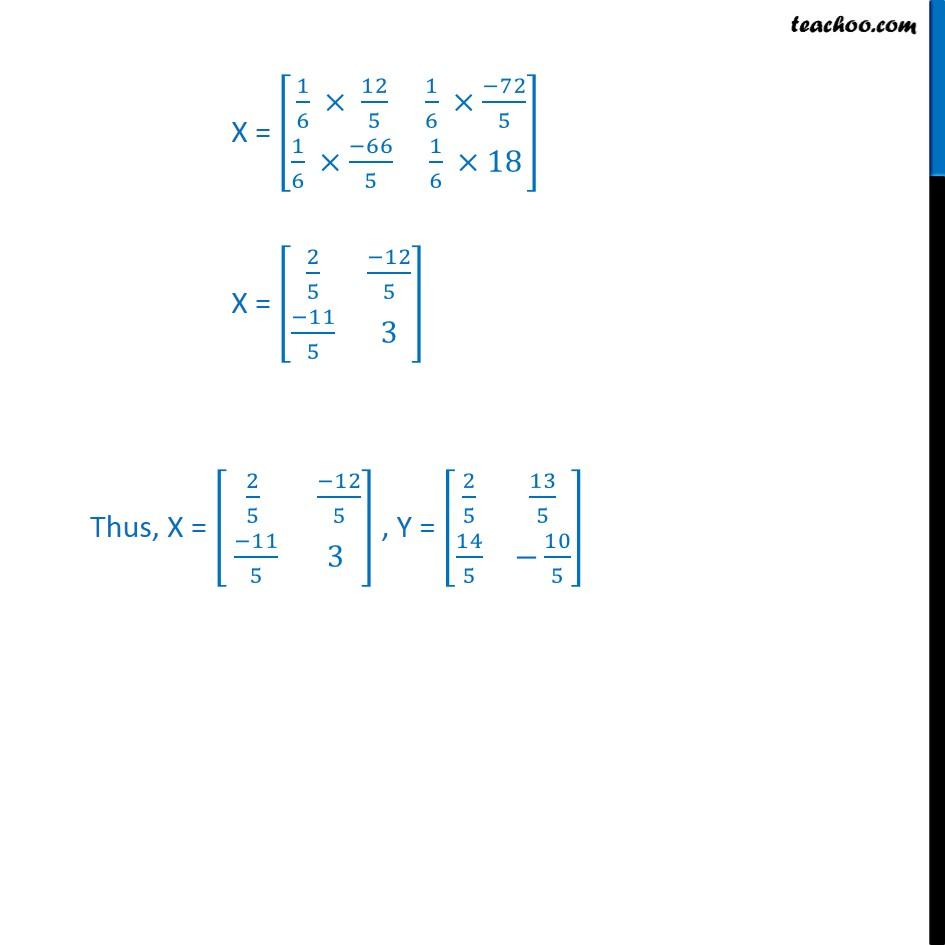 Ex 3.2, 7 - Chapter 3 Class 12 Matrices - Part 2