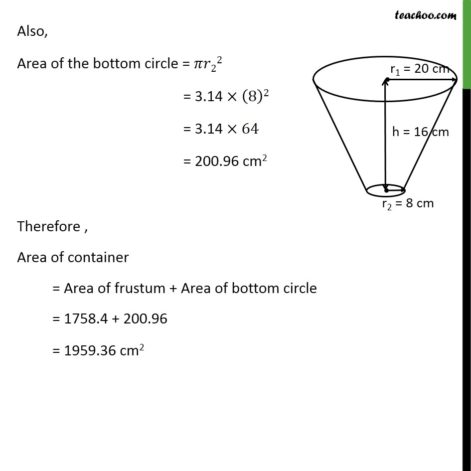 Ex 13.4, 4 - Chapter 13 Class 10 Surface Areas and Volumes - Part 5