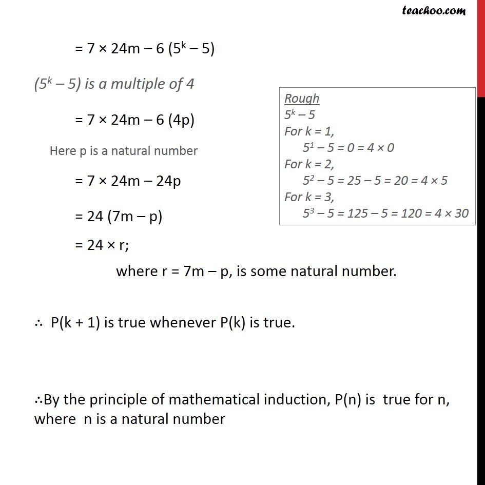 Example 6 - Chapter 4 Class 11 Mathematical Induction - Part 4