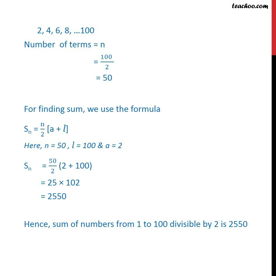 Misc 5 - Chapter 9 Class 11 Sequences and Series - Part 2