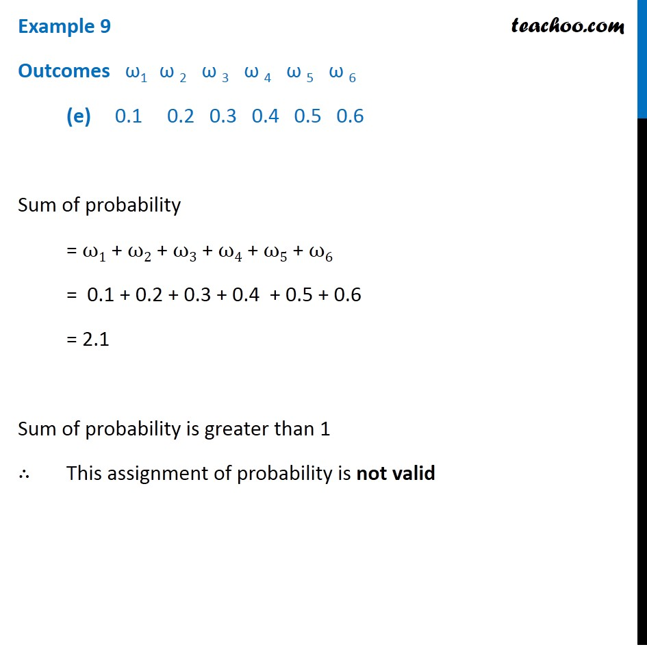 Example 9 - Chapter 16 Class 11 Probability - Part 5
