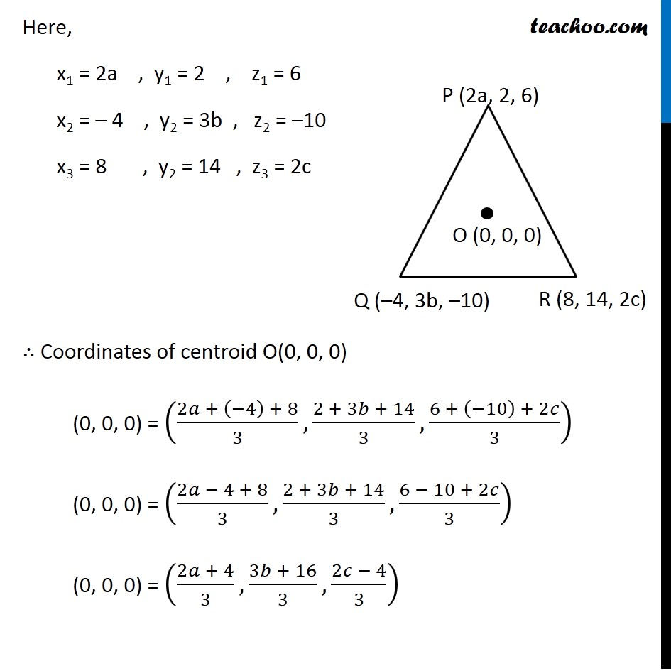 Misc  3 - Chapter 12 Class 11 Introduction to Three Dimensional Geometry - Part 2