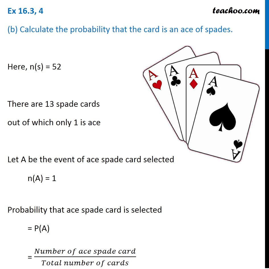 Ex 16.3, 4 - Chapter 16 Class 11 Probability - Part 2