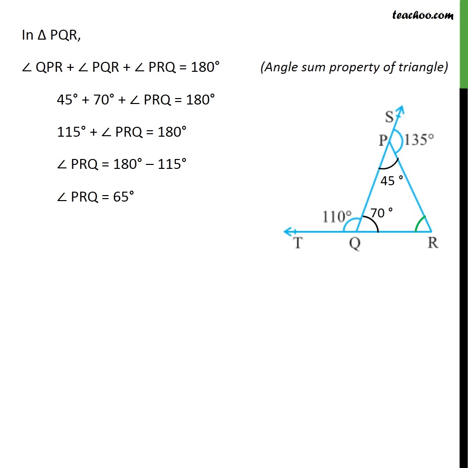 Ex 6.3, 1 - Chapter 6 Class 9 Lines and Angles - Part 2