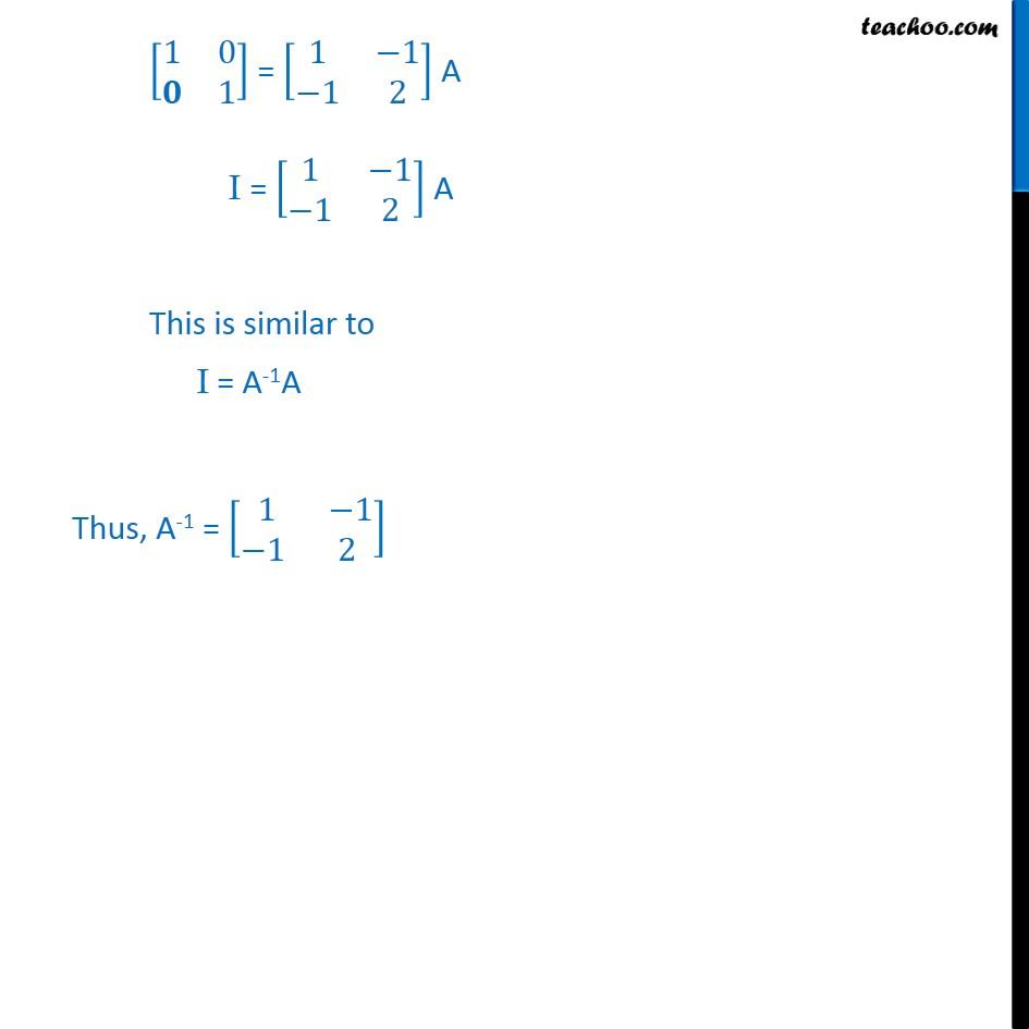 Ex 3.4, 2 - Chapter 3 Class 12 Matrices - Part 2