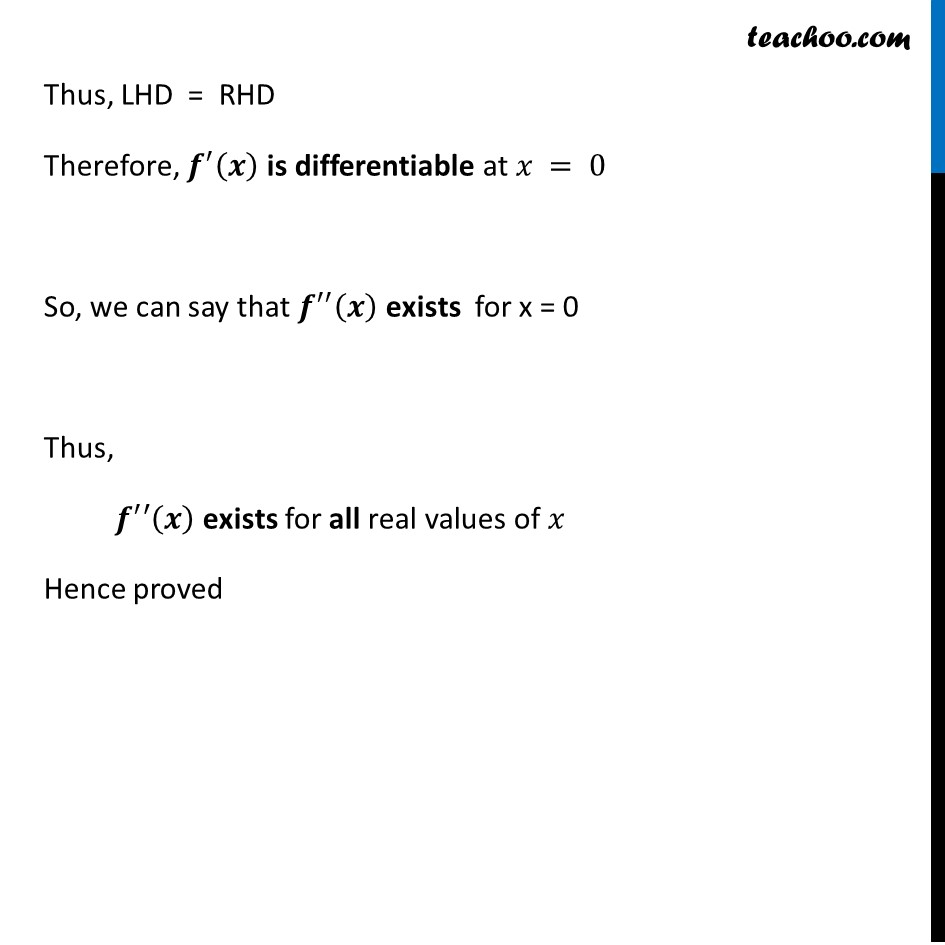 Misc 18 - Chapter 5 Class 12 Continuity and Differentiability - Part 6