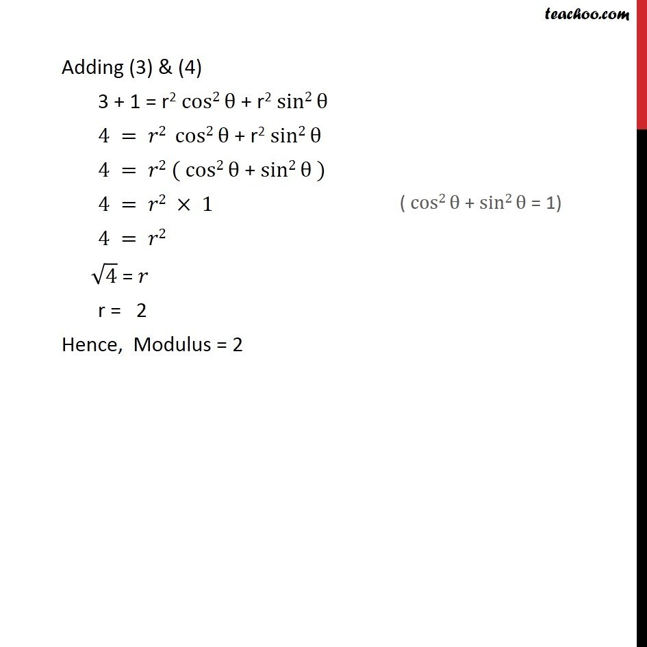 Ex 5.2, 7 - Chapter 5 Class 11 Complex Numbers - Part 2