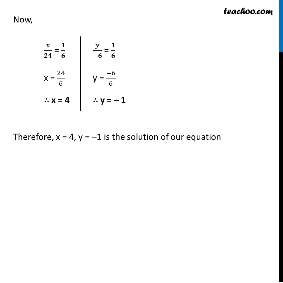 Ex 3.5, 1 - Chapter 3 Class 10 Pair of Linear Equations in Two Variables - Part 12