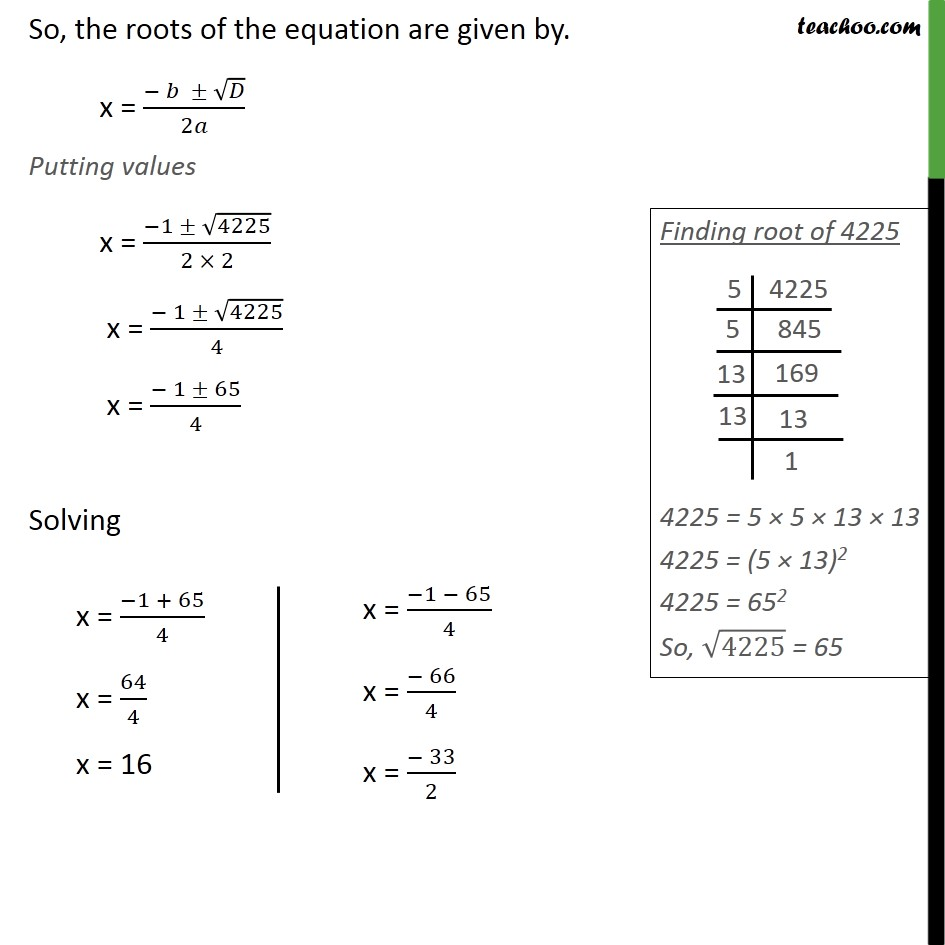 Example 10 - Chapter 4 Class 10 Quadratic Equations - Part 2