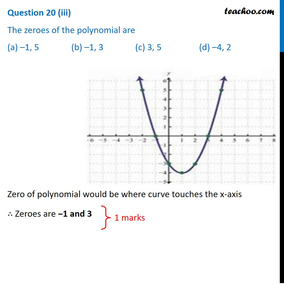 Question 20 - CBSE Class 10 Sample Paper for 2021 Boards - Maths Basic - Part 4