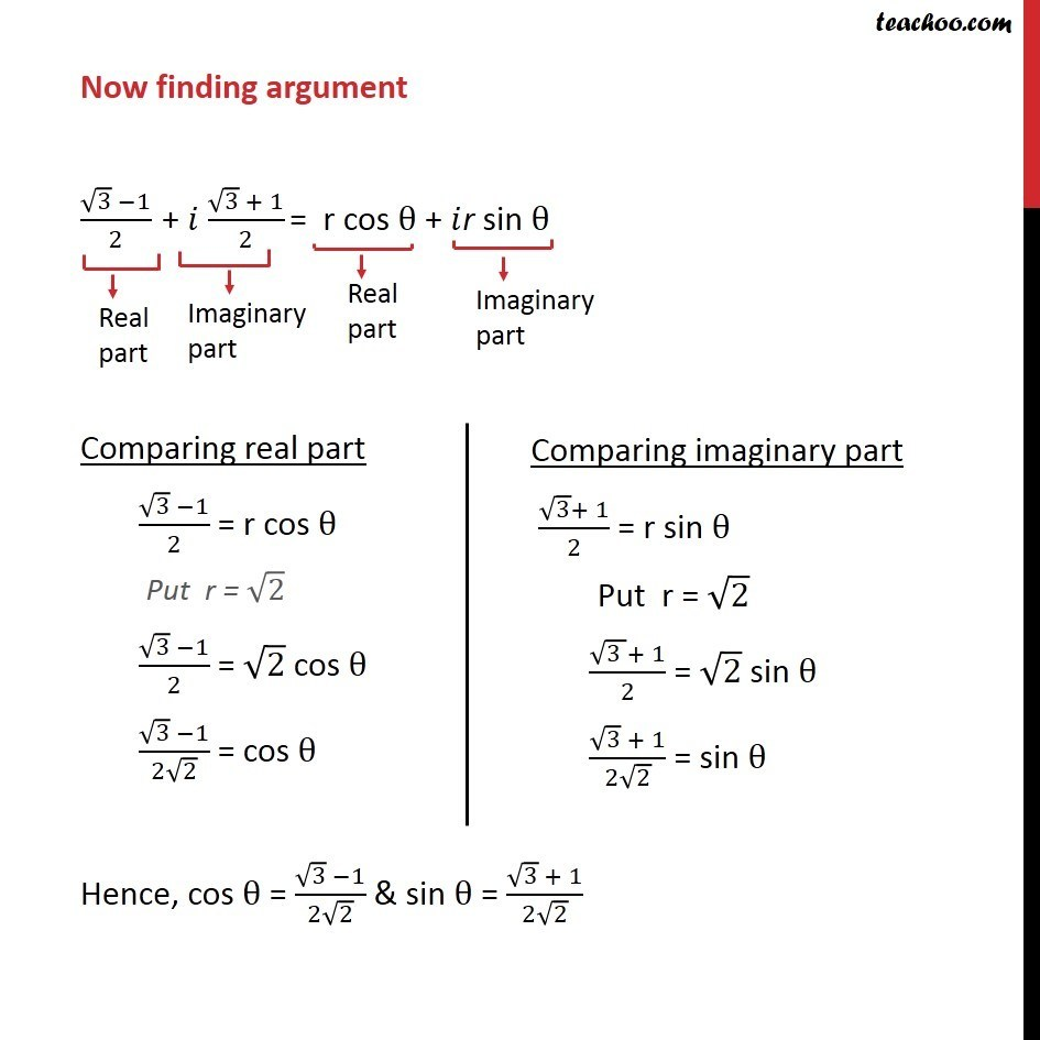 Example 16 - Chapter 5 Class 11 Complex Numbers - Part 7