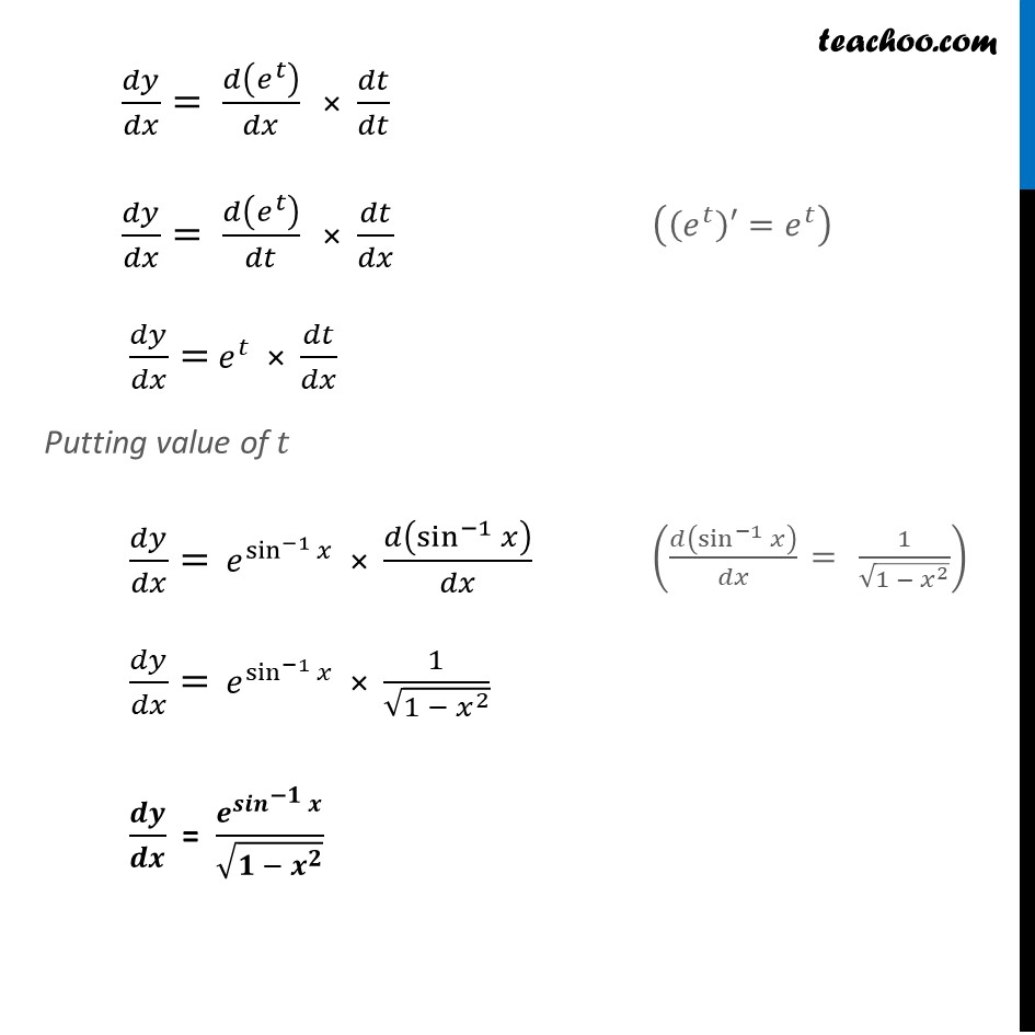 Ex 5.4, 2 - Chapter 5 Class 12 Continuity and Differentiability - Part 3