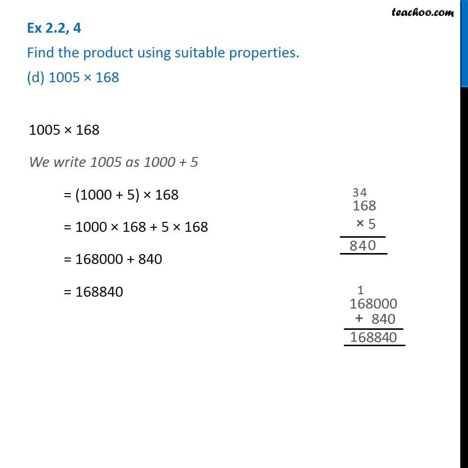 Ex 2.2, 4 - Chapter 2 Class 6 Whole Numbers - Part 4