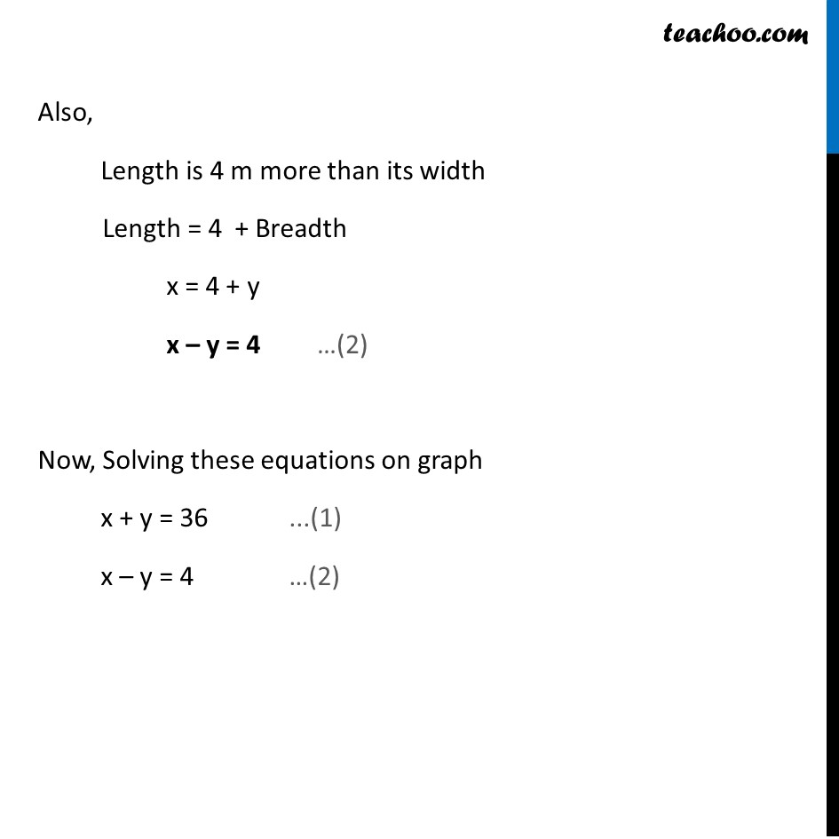 Ex 3.2, 5 - Chapter 3 Class 10 Pair of Linear Equations in Two Variables - Part 2