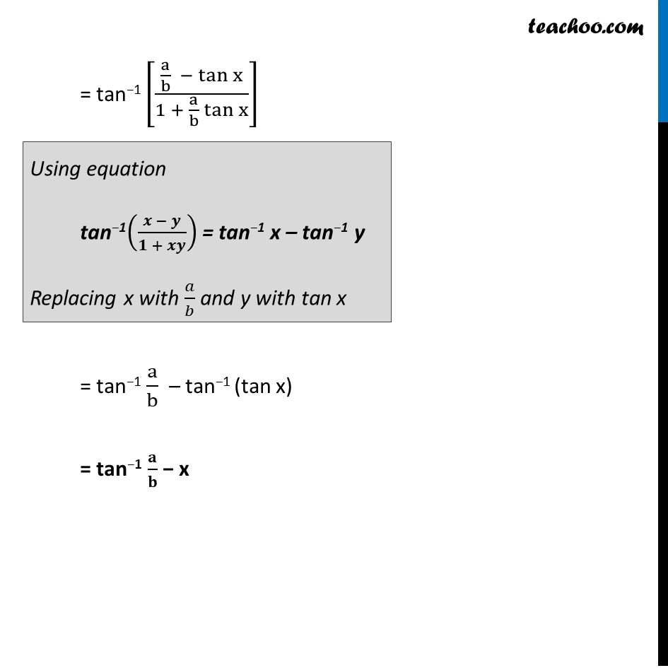 Example 12 - Chapter 2 Class 12 Inverse Trigonometric Functions - Part 3