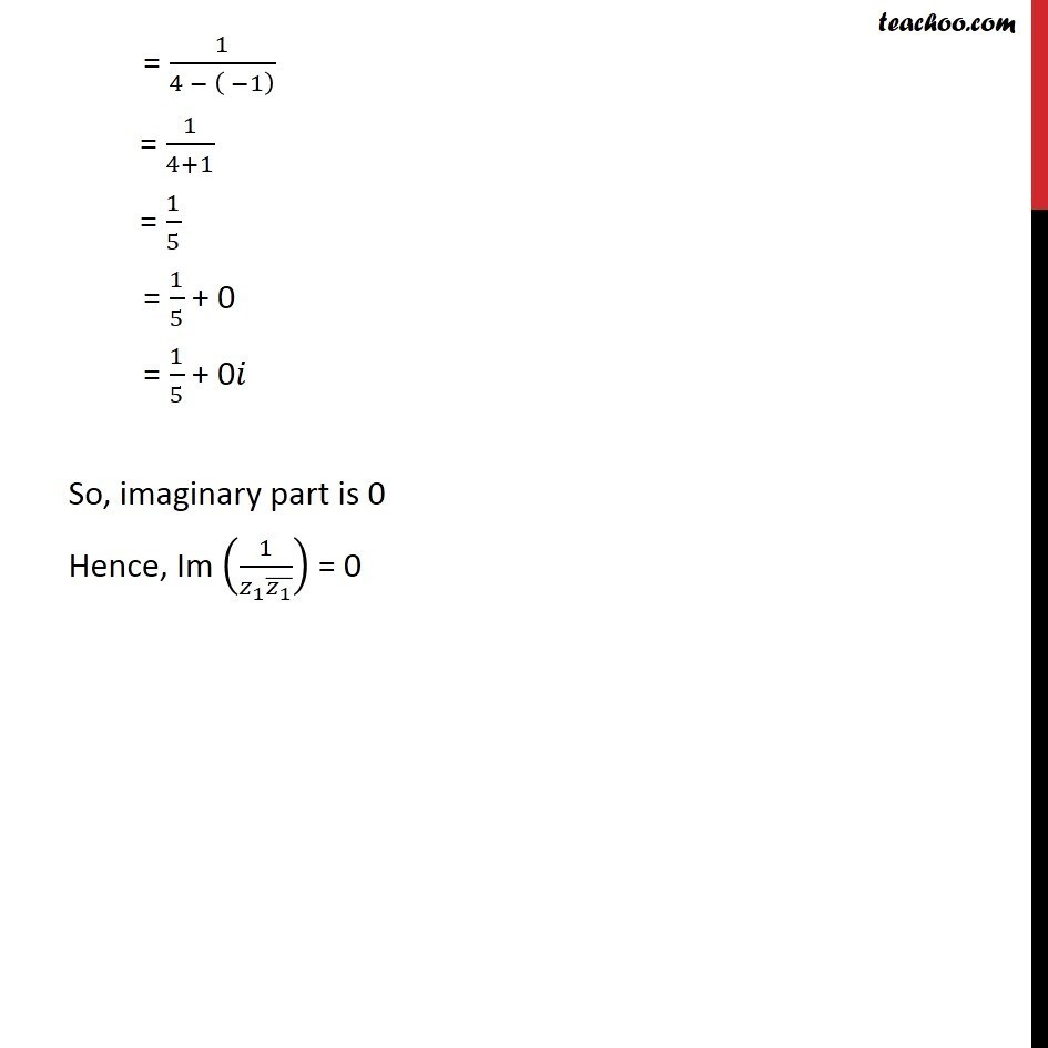 Misc 12  - Chapter 5 Class 11 Complex Numbers - Part 6