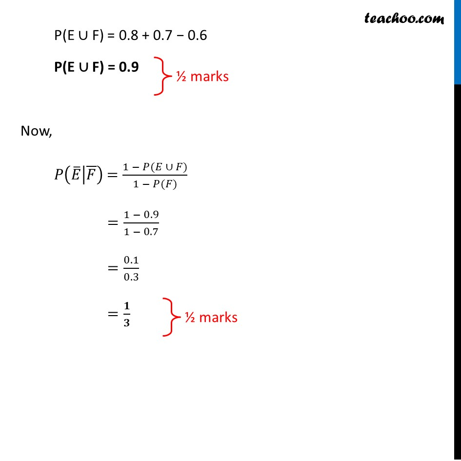 Question 28  (Choice 2) - CBSE Class 12 Sample Paper for 2021 Boards - Part 2