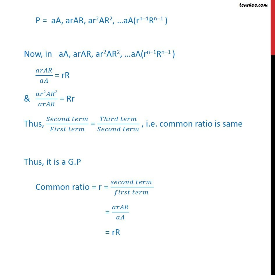 Ex 9.3, 20 - Chapter 9 Class 11 Sequences and Series - Part 2