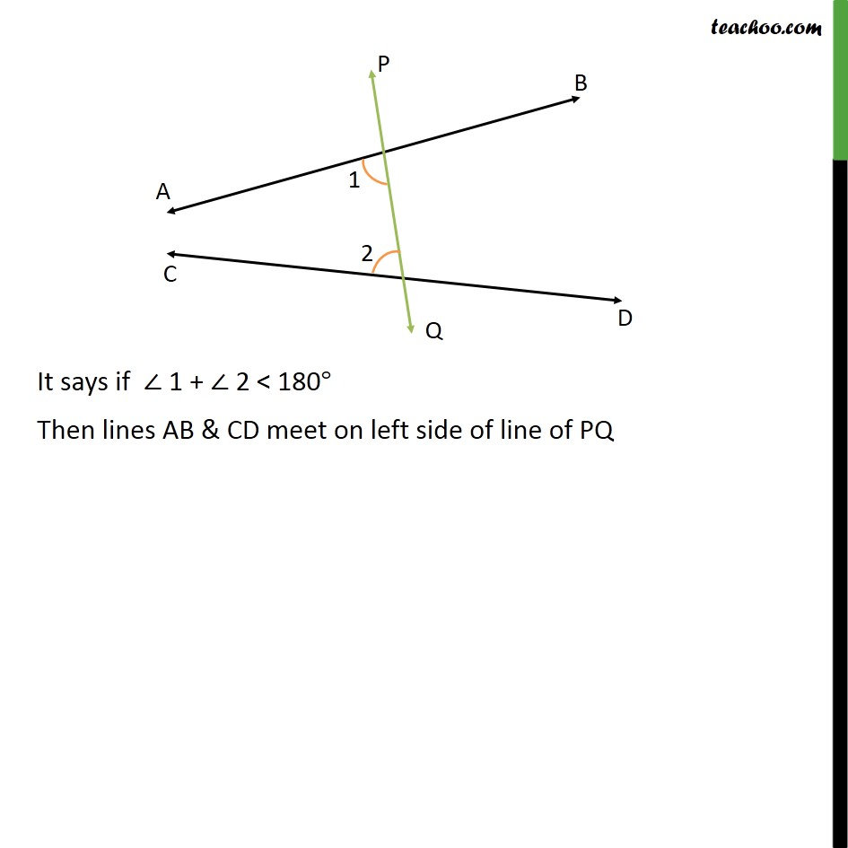 Ex 5.2, 1 - Chapter 5 Class 9 Introduction to Euclid's Geometry - Part 2