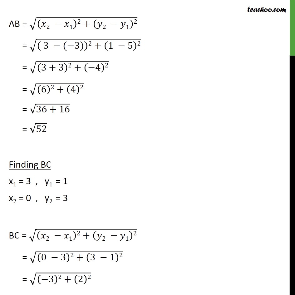 Ex 7.1, 6 - Chapter 7 Class 10 Coordinate Geometry - Part 10