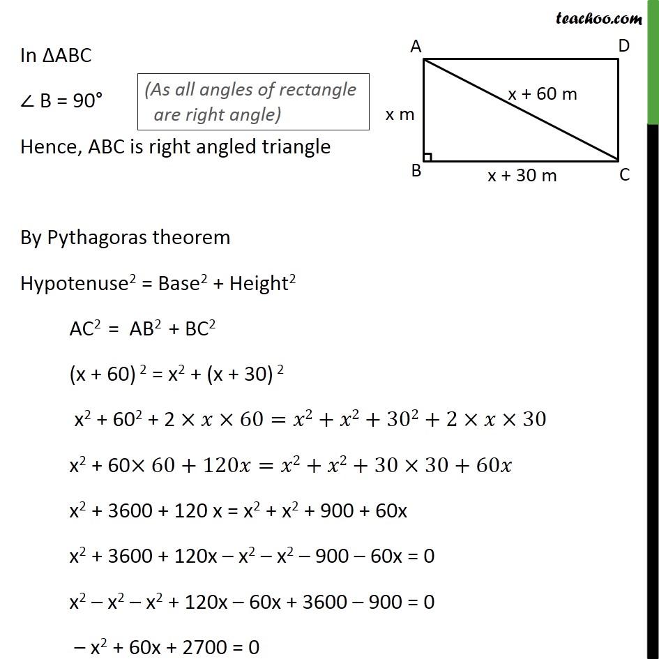 Ex 4.3, 6 - Chapter 4 Class 10 Quadratic Equations - Part 2