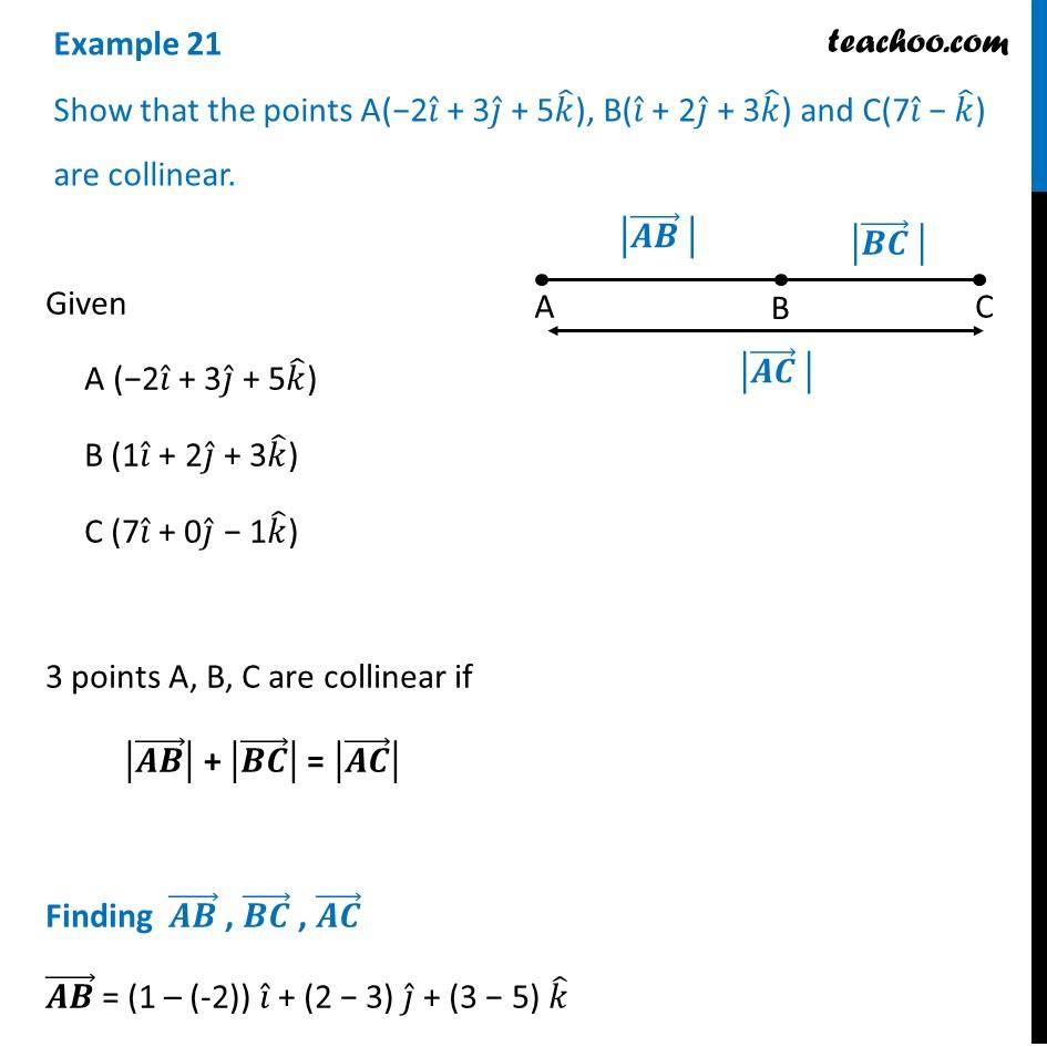 Example 21 - Chapter 10 Class 12 Vector Algebra - Part 2