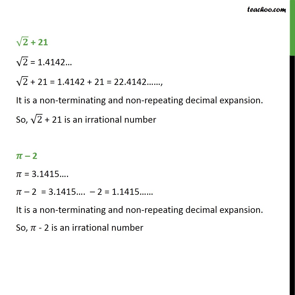 Example 12 - Chapter 1 Class 9 Number Systems - Part 5