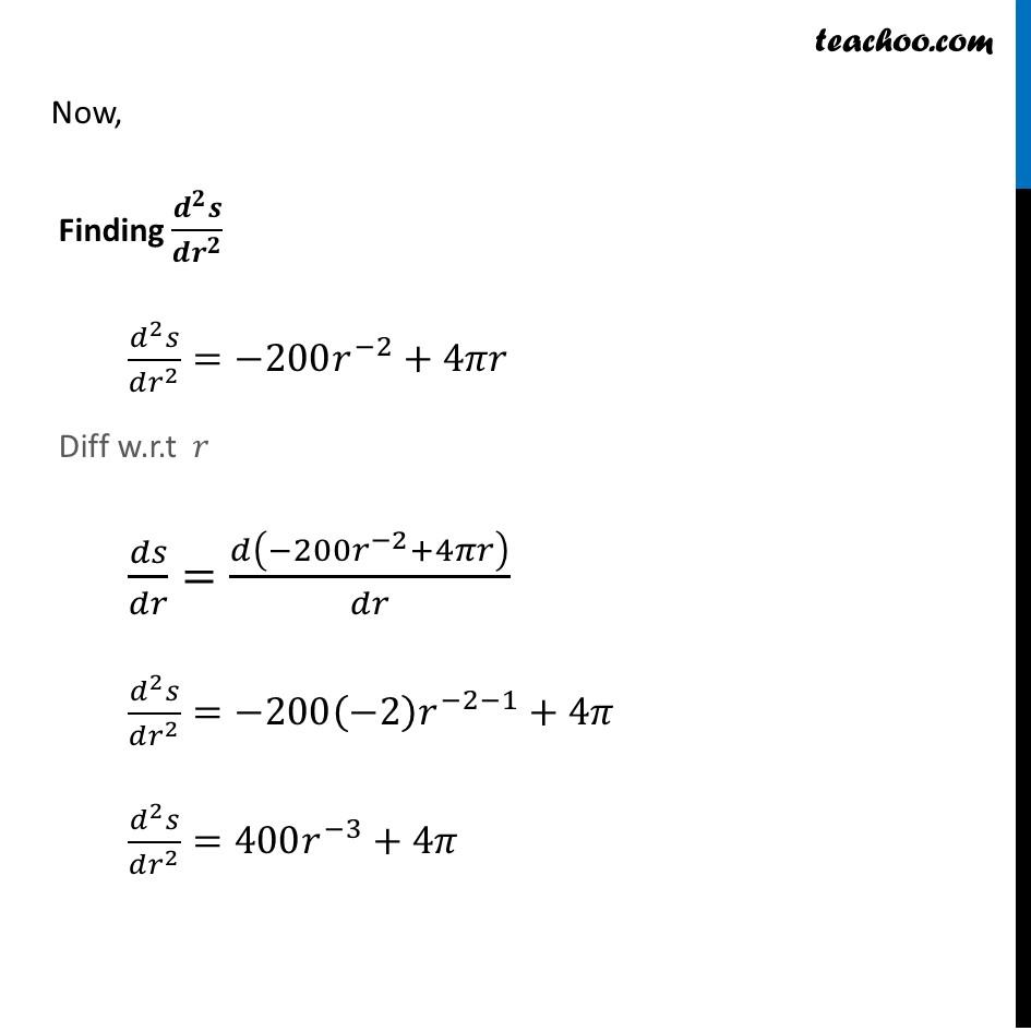 Ex 6.5,21 - Chapter 6 Class 12 Application of Derivatives - Part 5