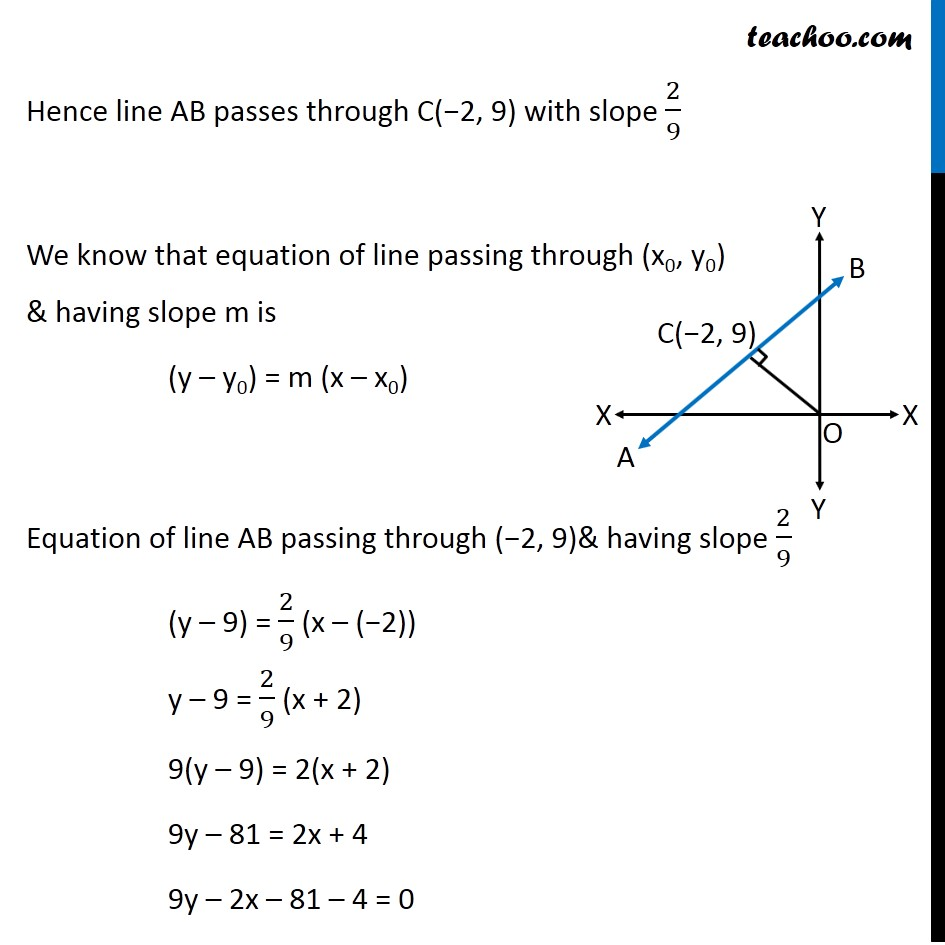 Ex 10.2, 15 - Chapter 10 Class 11 Straight Lines - Part 3