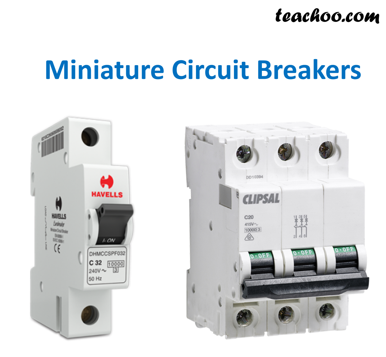 Miniature Circuit Breakers (MCB) - Teachoo.png