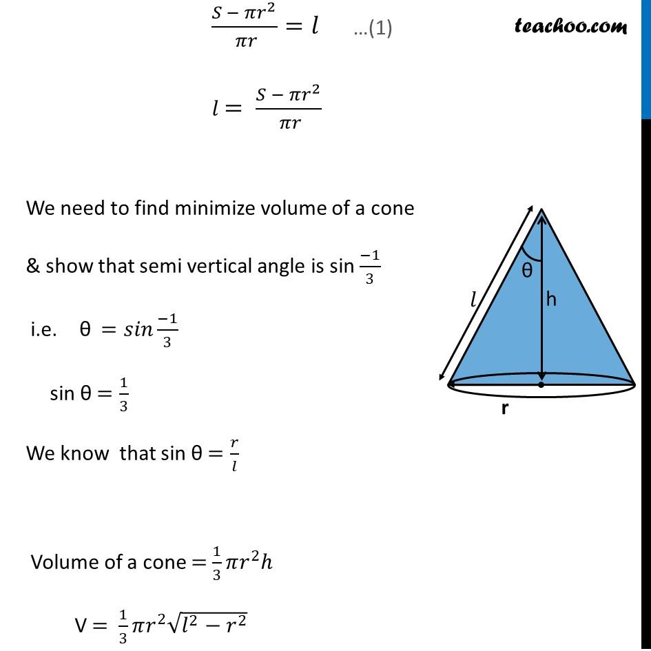 Ex 6.5,26 - Chapter 6 Class 12 Application of Derivatives - Part 2