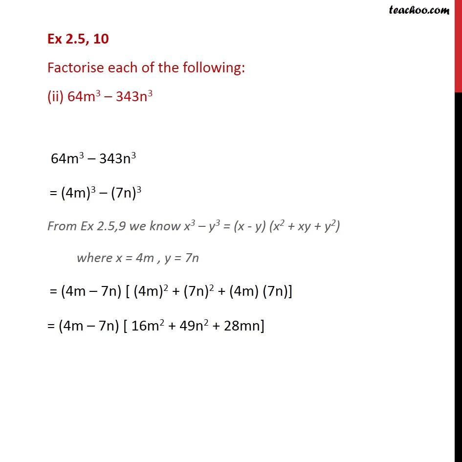 Ex 2.5,10 - Chapter 2 Class 9 Polynomials - Part 2