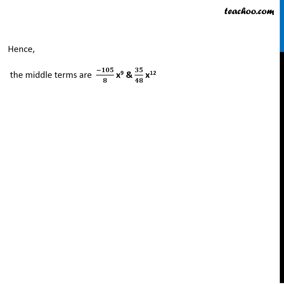 Ex 8.2,7 - Chapter 8 Class 11 Binomial Theorem - Part 4