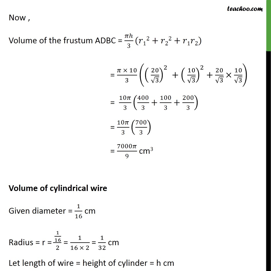 Ex 13.4, 5 - Chapter 13 Class 10 Surface Areas and Volumes - Part 3