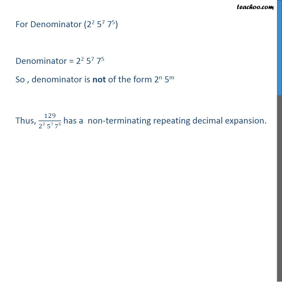 Ex 1.4, 1 - Chapter 1 Class 10 Real Numbers - Part 14
