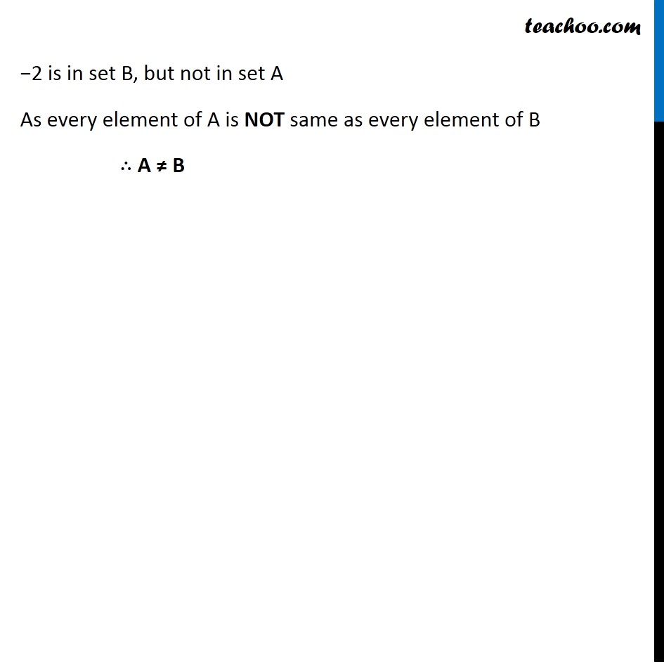 Ex 1.2, 5 - Chapter 1 Class 11 Sets - Part 2