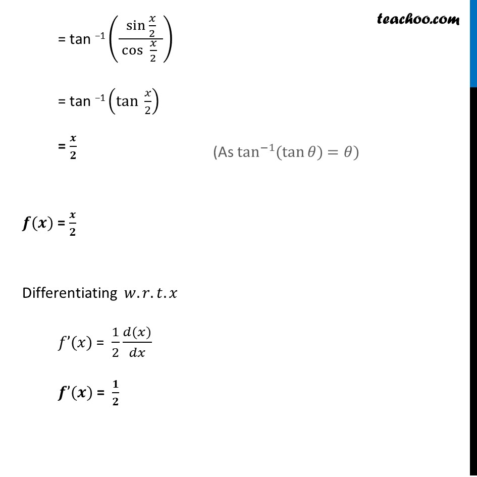 Example 45 - Chapter 5 Class 12 Continuity and Differentiability - Part 4