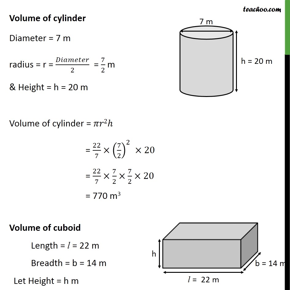Ex 13.3, 3 - Chapter 13 Class 10 Surface Areas and Volumes - Part 2